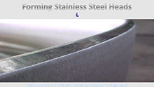 Forming Stainless Steel Heads