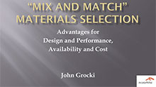 """Mix and Match"" Materials Selection"
