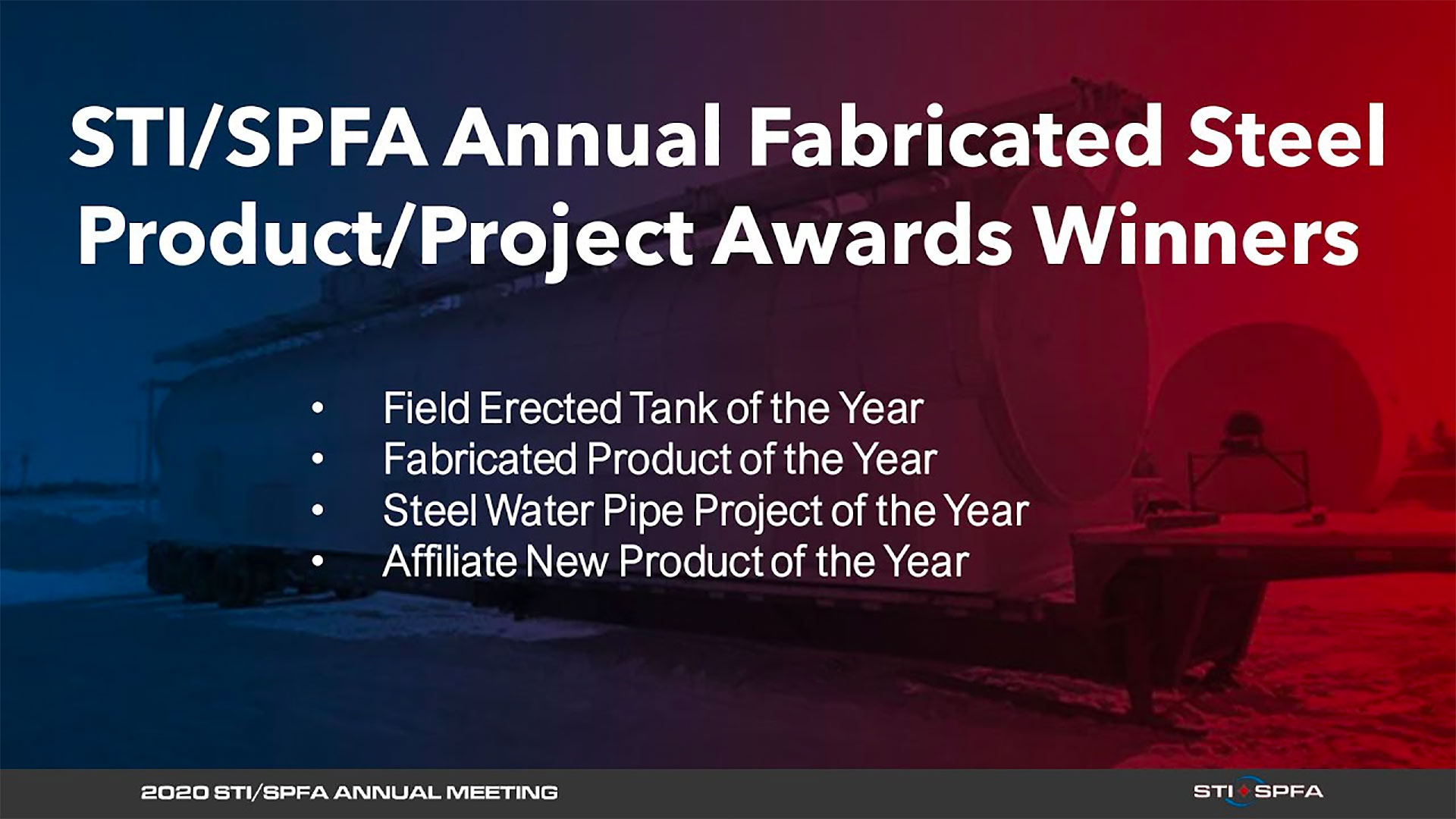 2019 STI/SPFA Annual Fabricated Steel Product/Project Awards Presentation